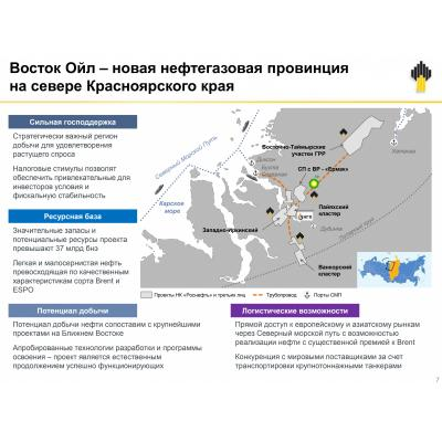 Восток Ойл - новая точка роста Роснефти