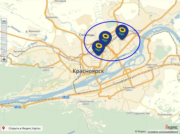 Лента карта Красноярск 2016
